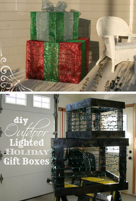 22 DIY Christmas Outdoor Decorations Ideas That Will Make Your