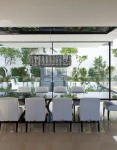 The house of hovering cube picture gallery modern interiorscubesinterior designingbeach also dining room rh pinterest