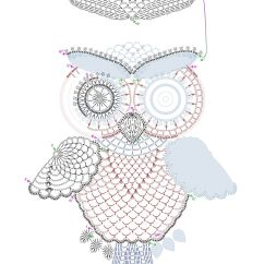 How To Make Crochet Pattern Diagram Toyota 22re Wiring Owl By Tasamajamarina Deviantart On