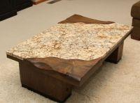 Furniture: Desired Granite Coffee Table With Rectangular