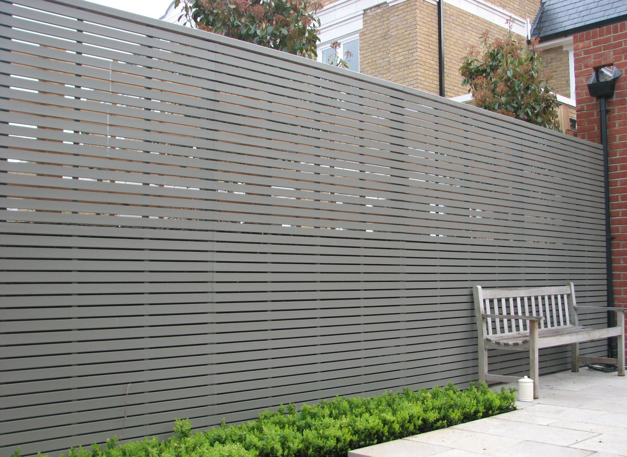 Image Of Privacy Garden Fence Panels DIY Pinterest Modern