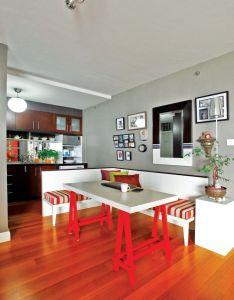 Idea online interior dapur mungil ala restoran dengan kursi penyekat also rh pinterest