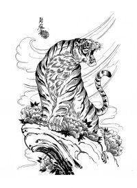 Jack Mosher - Tattoo Flash Set (100 )   Tats ...