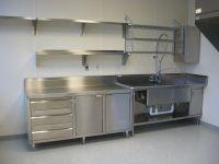 Stainless Shelves | industrial kitchen | Pinterest ...