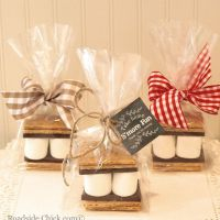 S'mores Party Favor Kit, DIY Favor Kit, Wedding Favors ...
