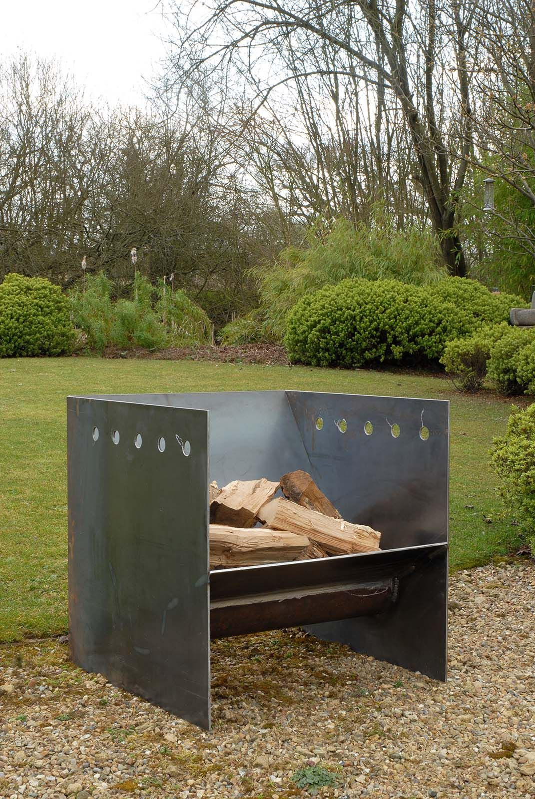 Superchunk fire pit from magmafirepits durable 5mm steel