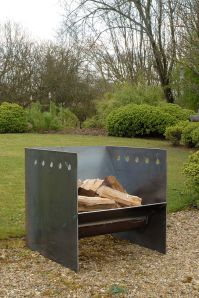 Superchunk fire pit from magmafirepits, durable 5mm steel ...
