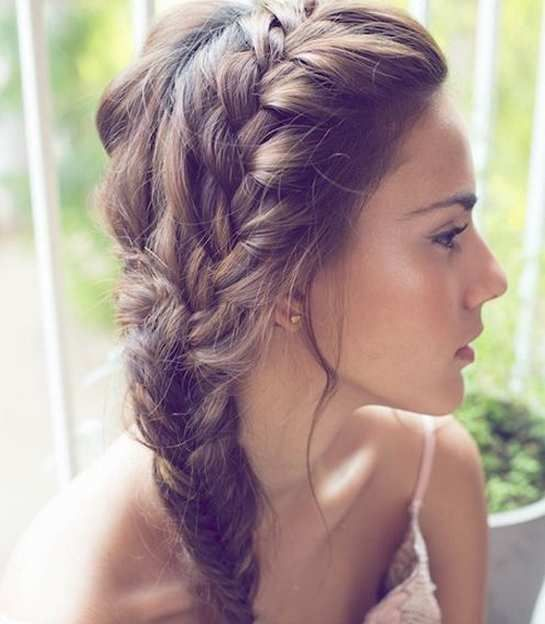 Easy Prom Hairstyles To Do At Home Ocuski Com Easy Prom