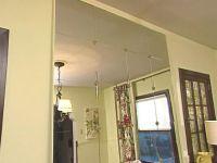 Idea for my makeshift home dance studio. Ikea mirror tiles ...