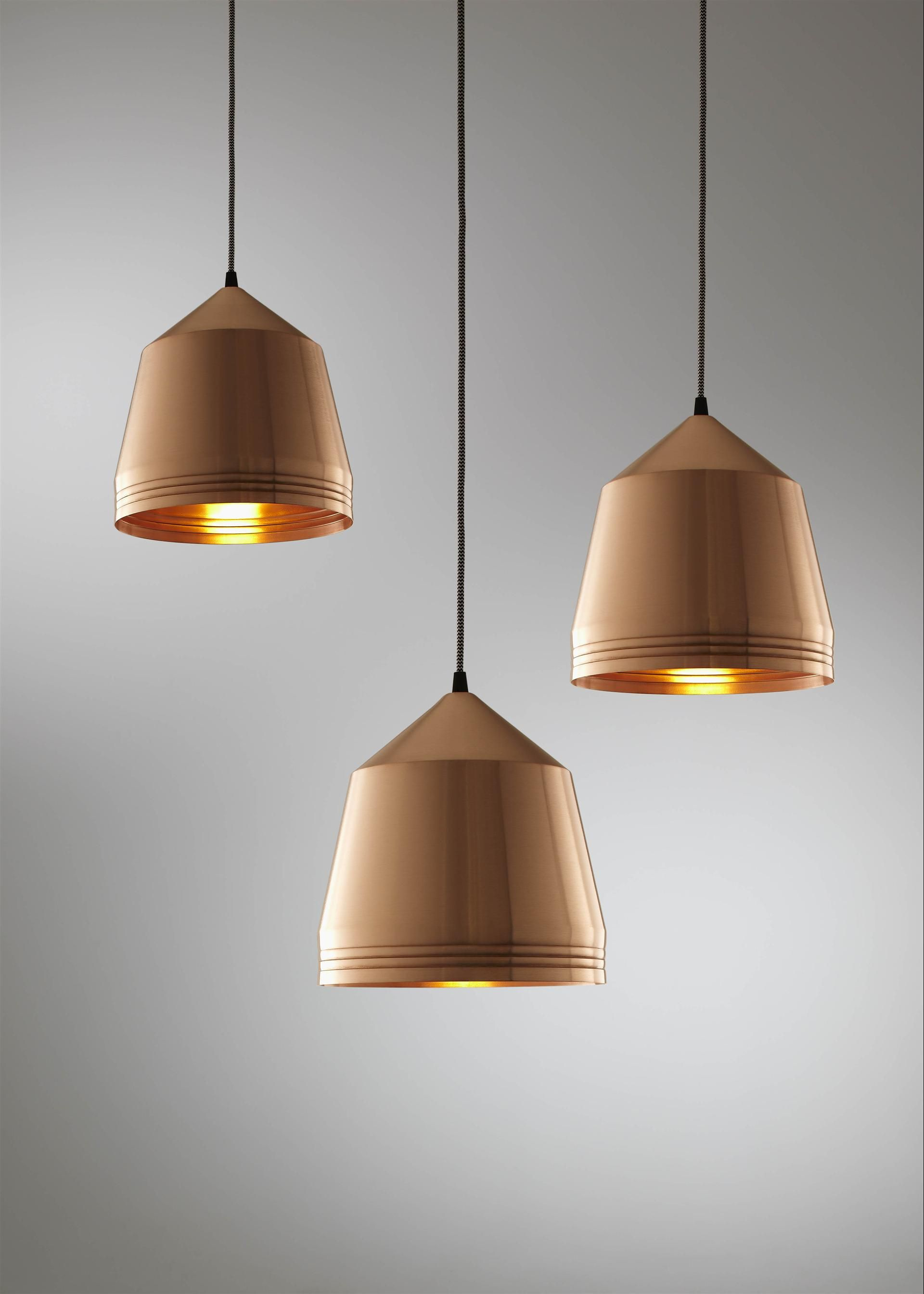copper pendant light kitchen nj cabinets pleasant lights perth new house