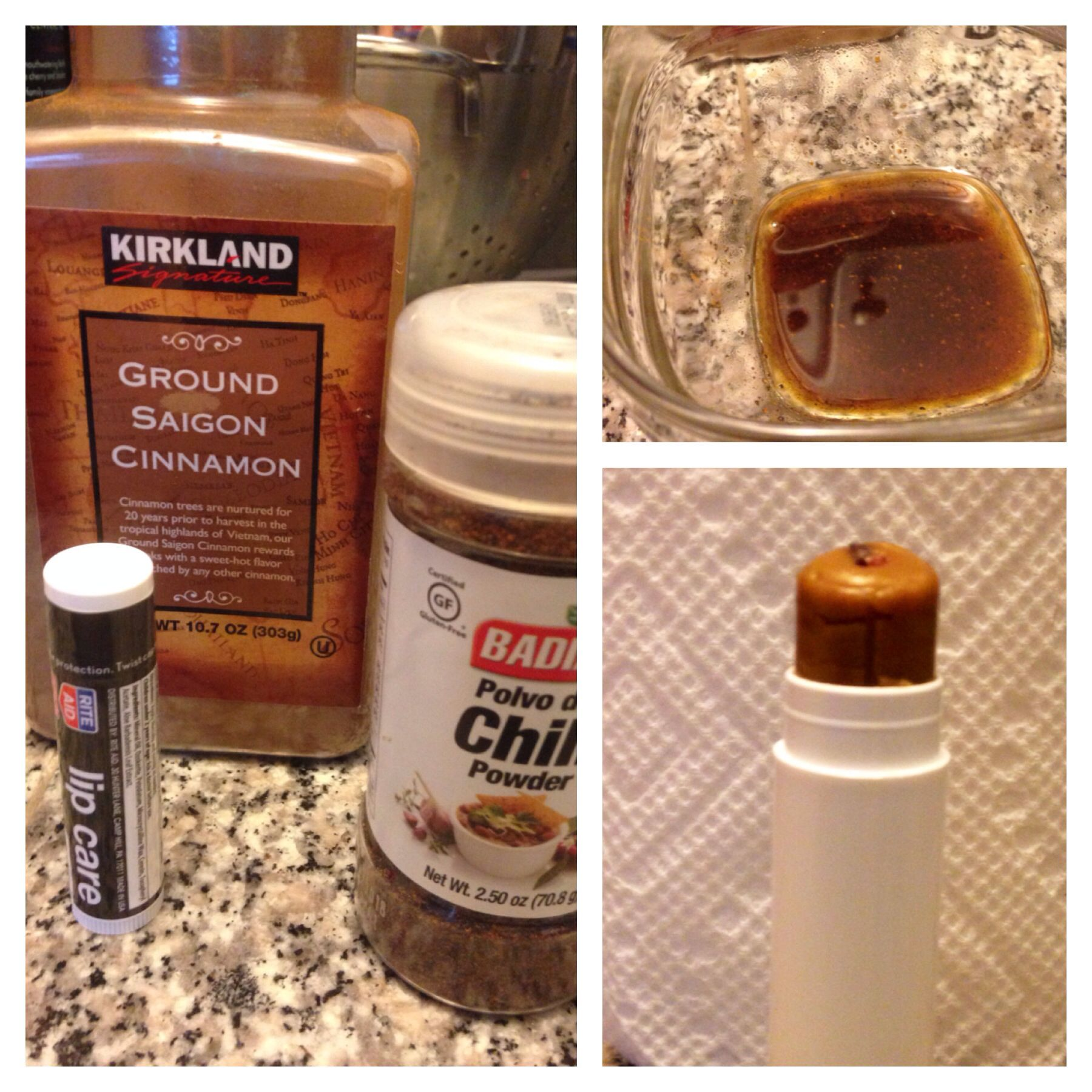 Diy Lip Plumper Cinnamon Powder