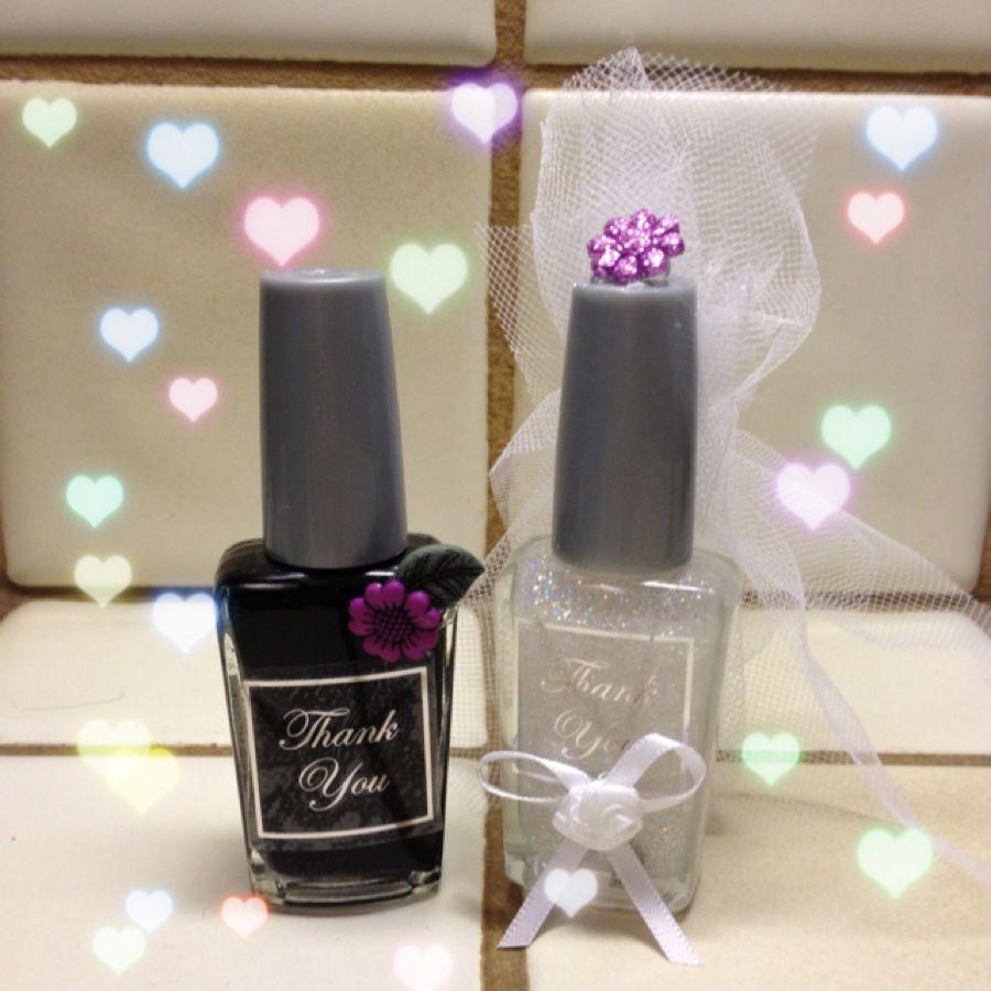 Nail Polish Bridal Shower Favors