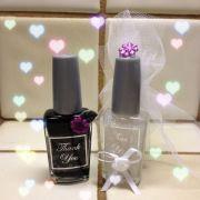 bridal favors nail polish