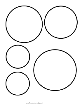 Use Circle Templates to lay out your classroom art