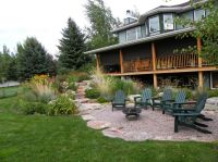 Pea Gravel Patio : Stunning Frontyard With Pea Gravel ...