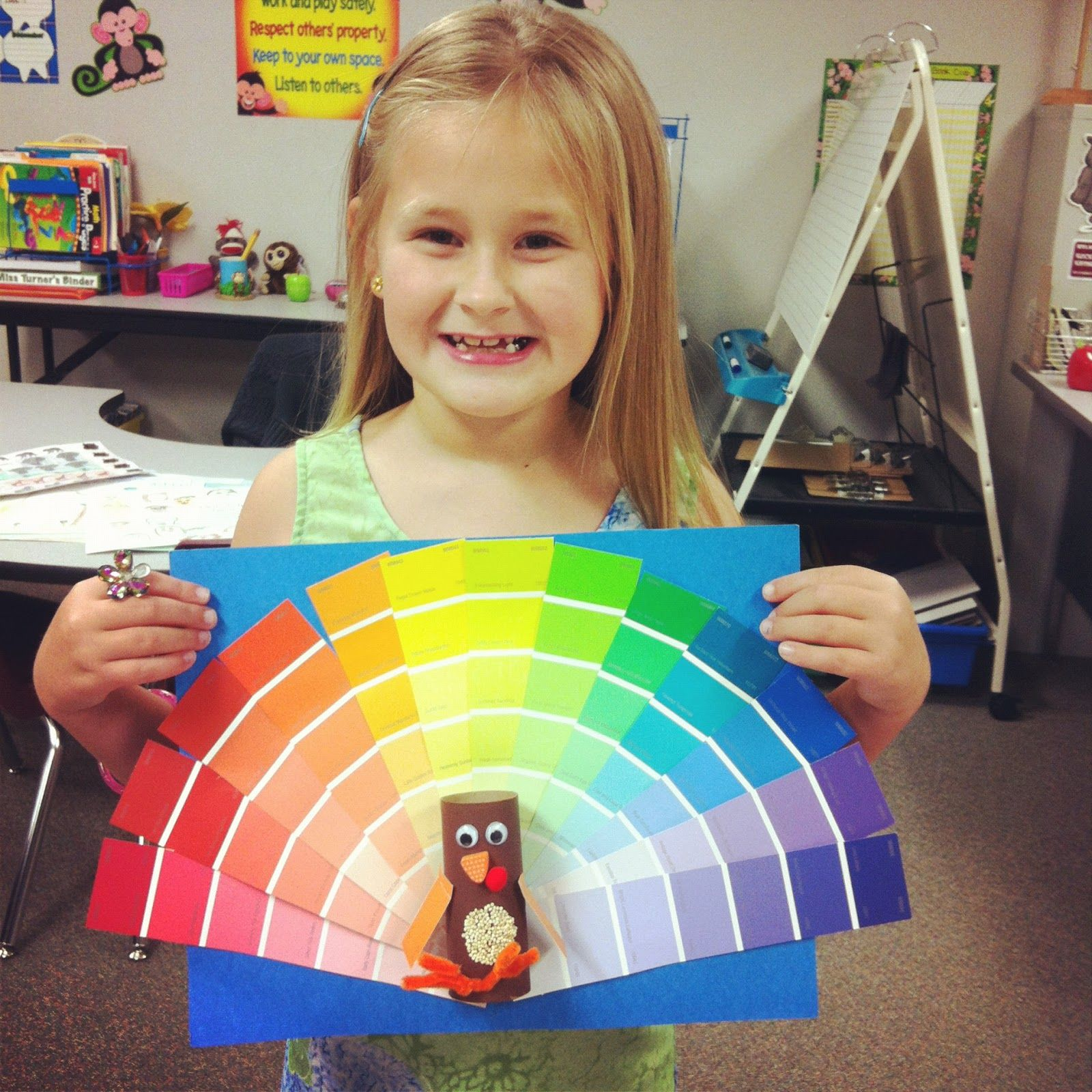 I Like This Idea For A Color Wheel For Little Ones But