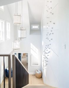 Inside the modern nantucket home of an architect staircases spaces and architects also rh pinterest