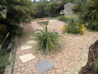 Ides portfolio - Landscaped garden design using pebbles ...