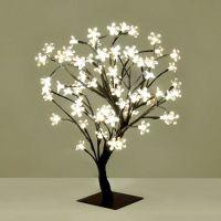 Small Decorative Warm White Blossom Sakura Style LED Tree ...