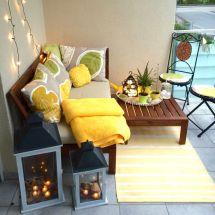 Small Balcony Ideas. - Ikea Pplar
