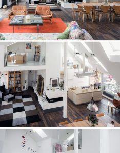 Loft architecture home also men dra mig baklanges en   fantastisk lagenhet som ligger ute till rh pinterest