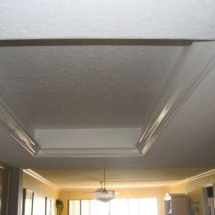 Kitchen Ceiling Tiles White Backsplash Tile Remove The 80s Dome And Replace With More Modern Look