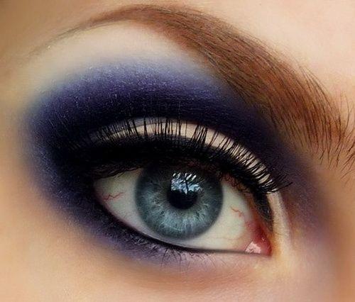 Dramatic Eye Makeup For Blue Eyes Ideas