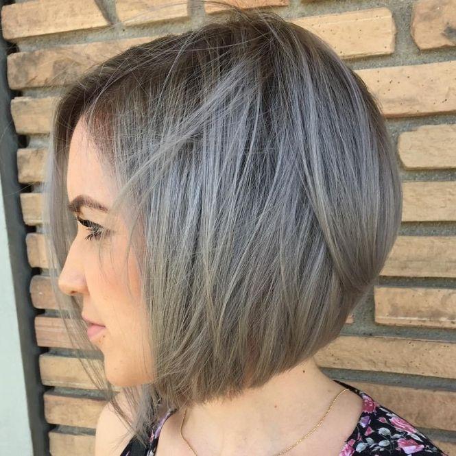 Gray Bob Haircuts - The Best Haircut Of 2018