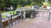outdoor pizza oven kitchen plans - Google Search | Pizza ...