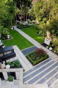 Modern Japanese garden from above Garden Design North ...