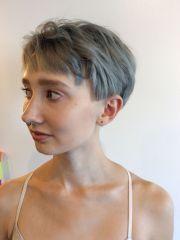textured short pixie haircut