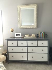 IKEA hack project with the all white hemnes dresser ...