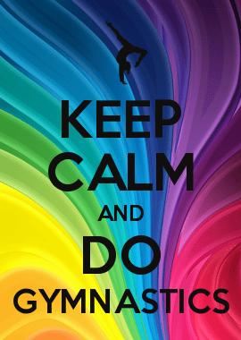 Try To Be A Rainbow Quote Desktop Wallpaper Keep Calm And Do Gymnastics Gymnastics Pinterest