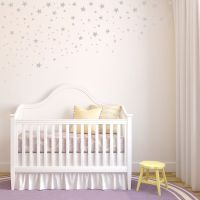Scattered & Falling Stars - Set of 100 - Star Wall Decals ...