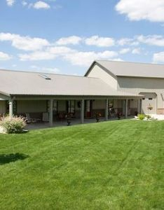 Pole barn home with heated garage lafayette indiana fbi buildings design ideas pinterest building and also rh za