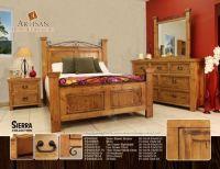 rustic southwest bedroom furniture set | Bedrooms ...