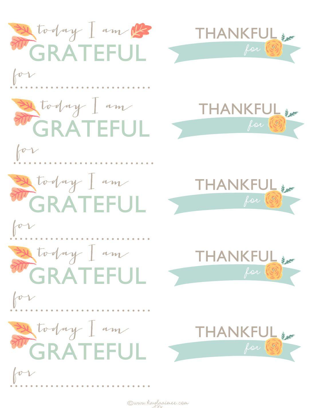A Thanksgiving Tradition Diy Gratitude Jar Printable
