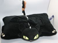"NEW Rare NIGHT FURY TOOTHLESS PILLOW PET PLUSH 15"" From ..."