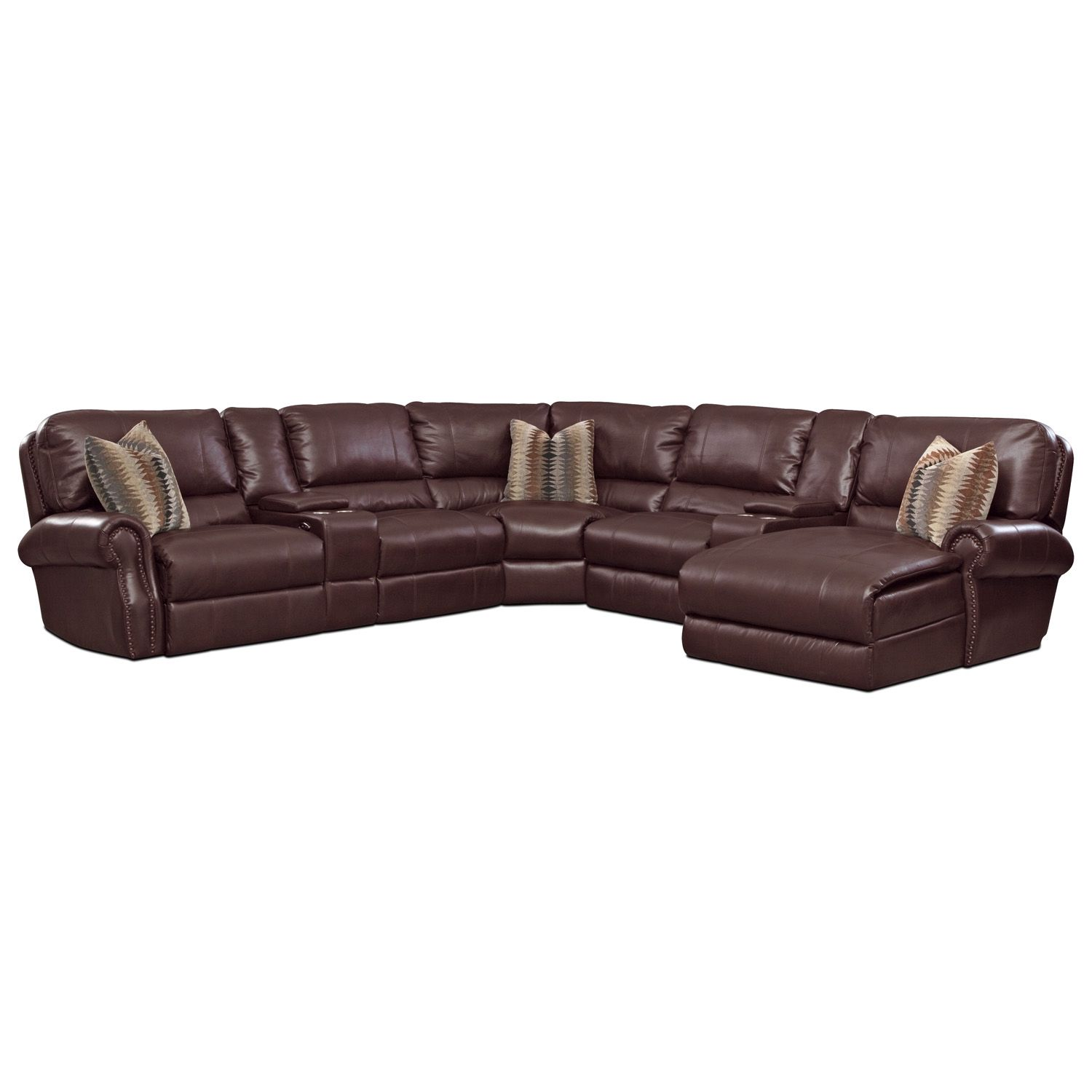 big lots leather reclining sofas claudia sofa slipcover american signature furniture princeton 5 pc