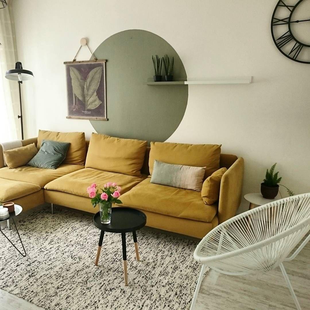 yellow sofa bed ikea modern leather beds uk mustard 39söderhamn 39 aysu sener living room