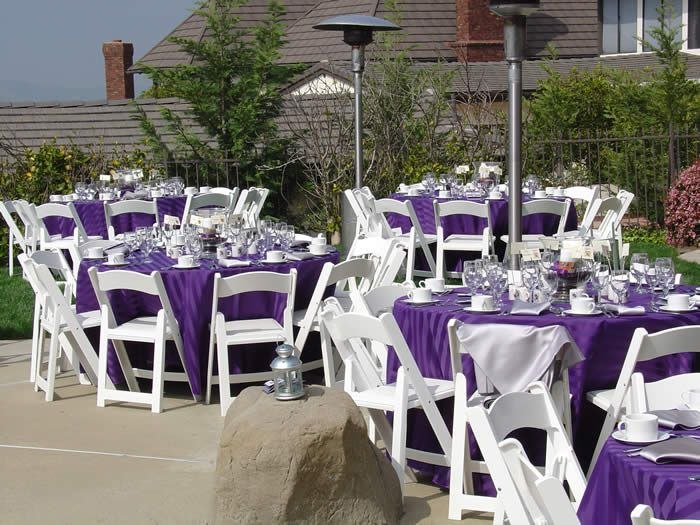 Cheap Wedding Reception Ideas And Pictures Elegant Backyard