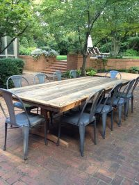 Best 25+ Outdoor tables ideas on Pinterest | Cable reel ...