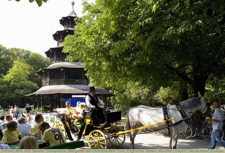 Biergarten Am Chinesischem Turm Englischer Garten München