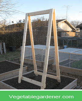 Garden Trellis Ideas For A Vegetable Garden Garden Pinterest
