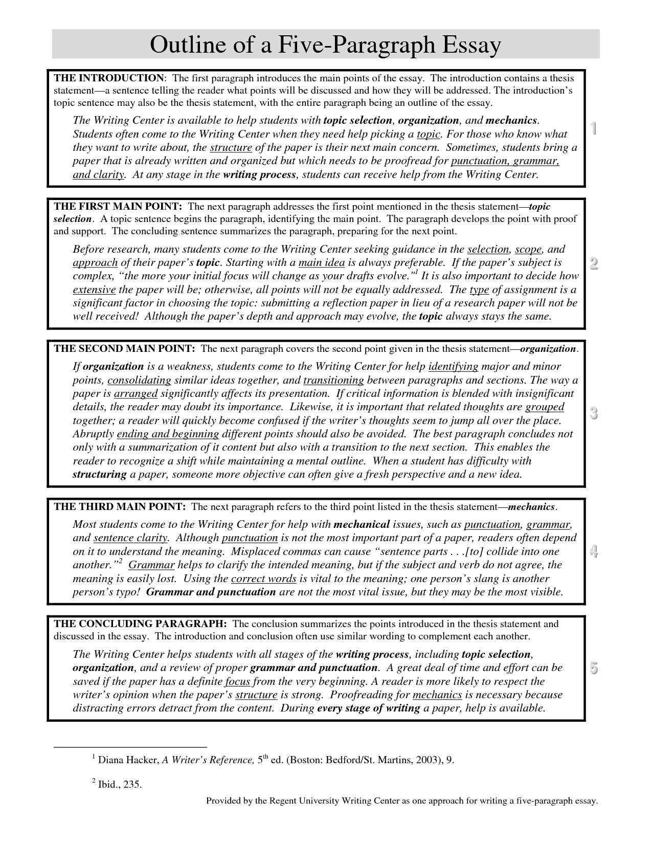 5 Paragraphs Essay Graphic Organizers For Teaching Writing Paragraph