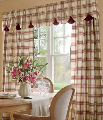Country Kitchen Curtains Thearmchairs Com CURTAINS & DRAPES