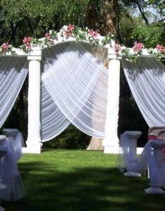 Wedding ceremony decoration ideas outdoorg also rh pinterest
