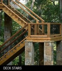 Deck Stairs Design on Deck Design Ideas Outdoor Stairs ...