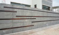 natural stone tiles application as wall cladding on ...