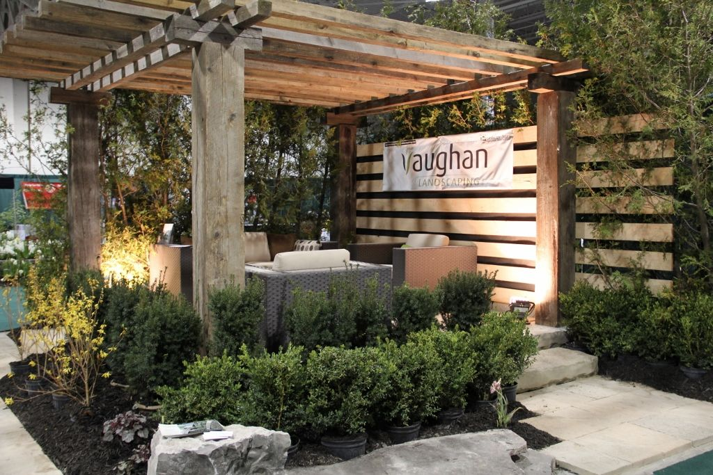 Landscape Display At The International Home & Garden Show Home